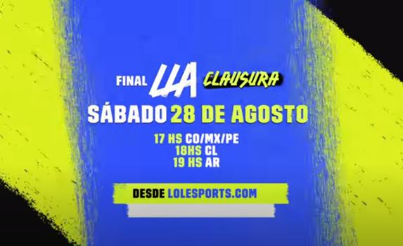 Mañana Gran Final LLA: INFINITY vs Estral Esports